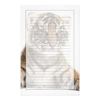 Papeterie Petit animal de tigre de Sumatran