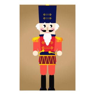 Papeterie Petit soldat rouge. Dessin original