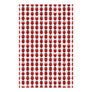 Papeterie Petites coccinelles rouges