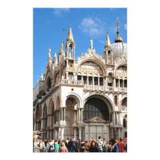 Papeterie Piazza San Marco, Venise, Italie