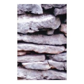 Papeterie pile de roche formée
