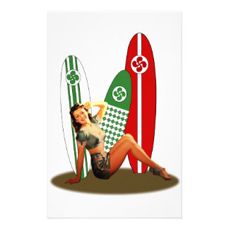 Papeterie Pin-up Basque France