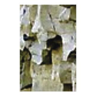Papeterie plafond blanc approximatif de roche