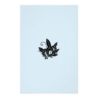 Papeterie pointe de flèche Papillon-formée