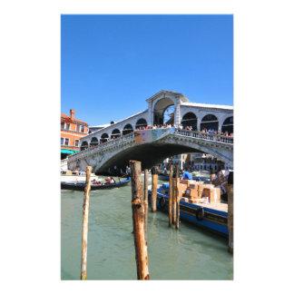 Papeterie Pont de Rialto à Venise, Italie