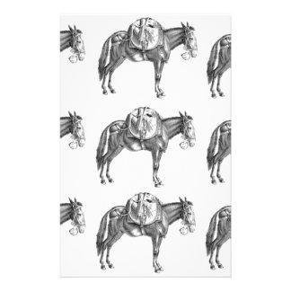 Papeterie prière de mule de paquet
