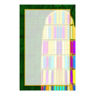 Papeterie rayée par amende de la fenêtre I de