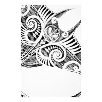 Papeterie rayon de manta géant maori