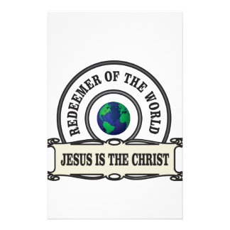 Papeterie rédempteur de seigneur du monde