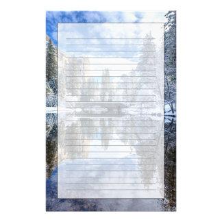 Papeterie Réflexion d'hiver chez Yosemite
