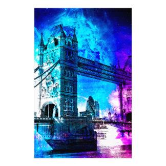 Papeterie Rêves de Londres du ciel de la création