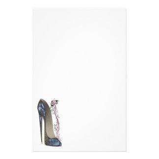 Papeterie Rhapsodie dans l'art stylet bleu de chaussure