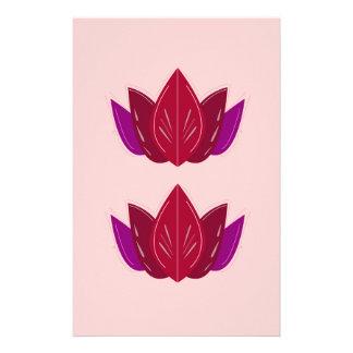 Papeterie Rose de lotus de santé
