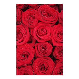 Papeterie Roses rouges par Therosegarden