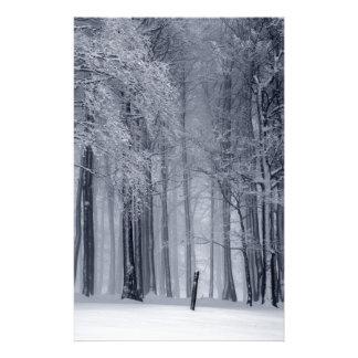Papeterie Scène d'hiver