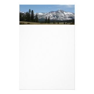 Papeterie Sierra montagnes de Nevada I de Yosemite