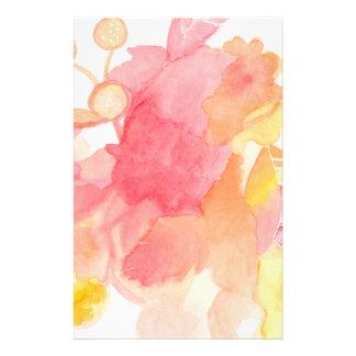 Papeterie Stationnaire abstrait floral