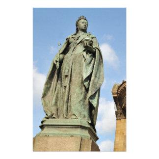 Papeterie Statue de la Reine Victoria à Birmingham,