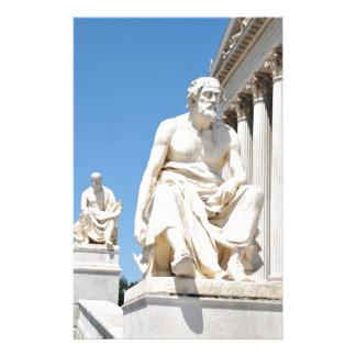 Papeterie Statue du philosophe grec