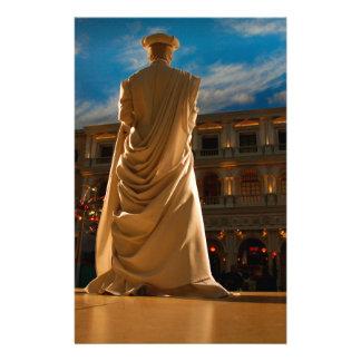 Papeterie Statue vivante