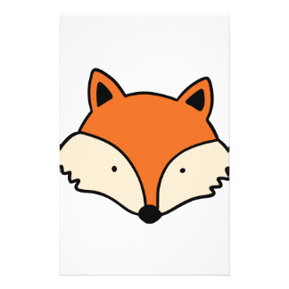 Papeterie Tête simple de renard