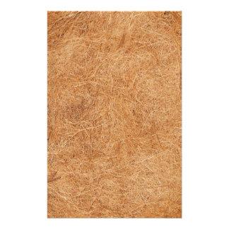 Papeterie Texture de noix de coco