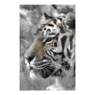 Papeterie Tigre blanc nature animal sauvage