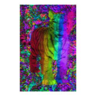 Papeterie Tigre coloré