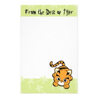 Papeterie Tigre de bébé Cutie