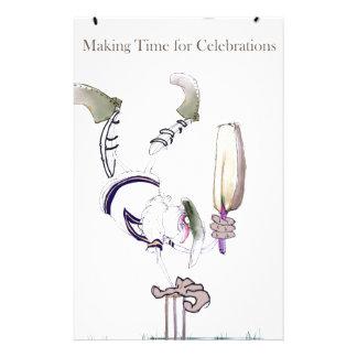 Papeterie Time de célébration de grillon de Yorkshire