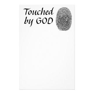 Papeterie Touché par Dieu