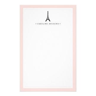 Papeterie Tour Eiffel personnalisé