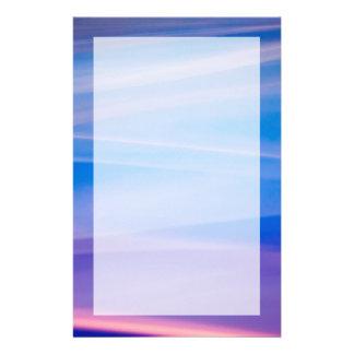 Papeterie Traînées légères de couleur d'abrégé sur peinture