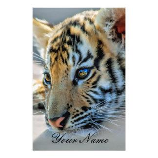 Papeterie Un tigre de bébé mignon