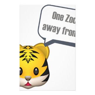 Papeterie un zoo à partir - d'Emoji