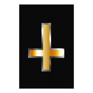 Papeterie Une croix inversée la croix de St Peter