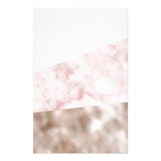 Papeterie Urbain rougissent le geo de marbre