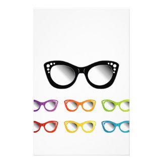 Papeterie Usage vintage d'oeil de plot réflectorisé pour des