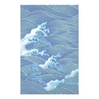 Papeterie Vagues bleues
