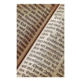Papeterie Vieille bible des textes de ministère