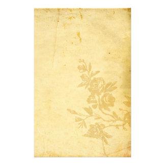 Papeterie Vieux regard antique de papier vintage avec des ro