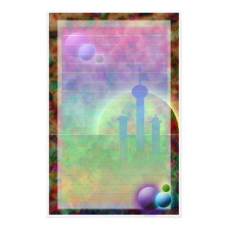 Papeterie Ville de l'espace (Version* plus léger)