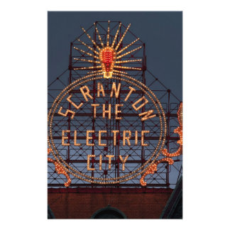 Papeterie Ville électrique de Scranton
