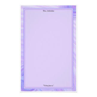 Papeterie Violette et frontières de Blue Line