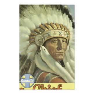 Papeterie Voyage vintage Santa Fe Nouveau Mexique Etats-Unis