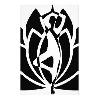 Papeterie Yoga Lotus