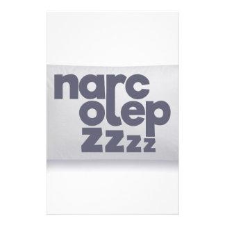 Papeterie Zzz de narcolepsie