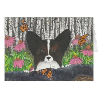 Papi, la carte de Papillon