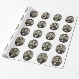 Papier Cadeau Abraham Lincoln