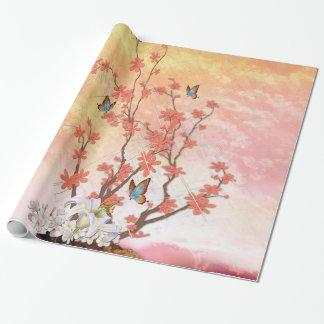 Papier Cadeau Affichage d'Ikebana